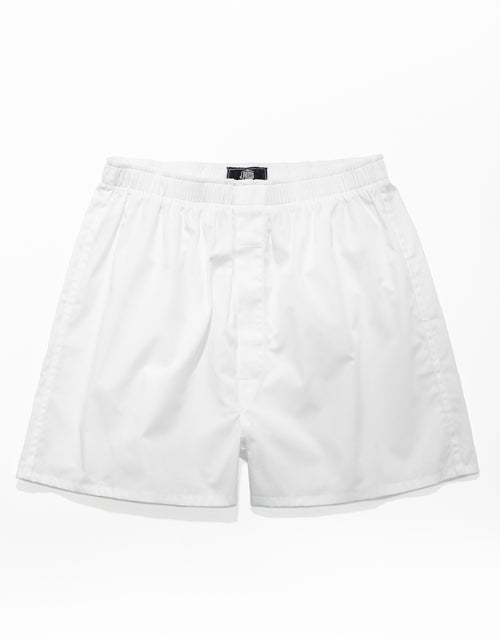 BROADCLOTH BOXERS - WHITE