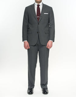 Pressidential Suit Grey Stripe