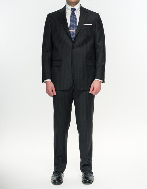 PRESSTIGE SUIT- GREY PIN STRIPE