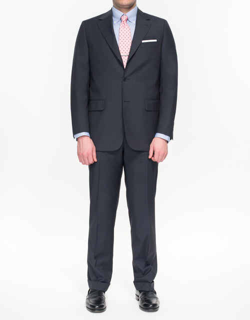 PRESSTIGE SUIT- SOLID NAVY