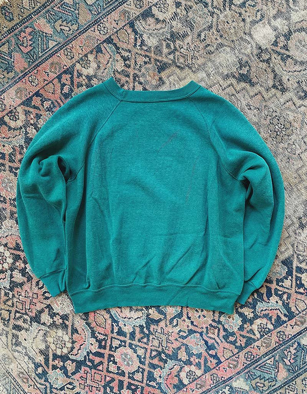 VINTAGE DARTMOUTH UNIVERSITY SWEATSHIRT - GREEN - J. PRESS