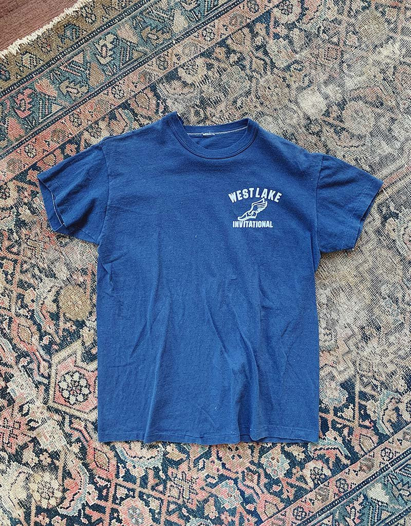 VINTAGE T-SHIRT - NAVY - J. PRESS