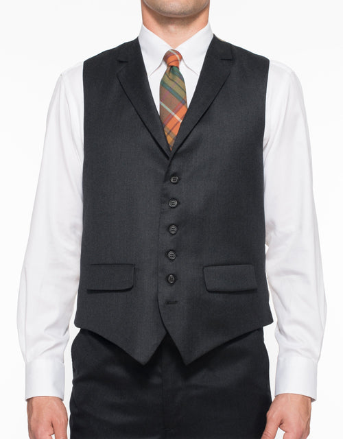 WOOL 6 BUTTON CLASSIC VEST