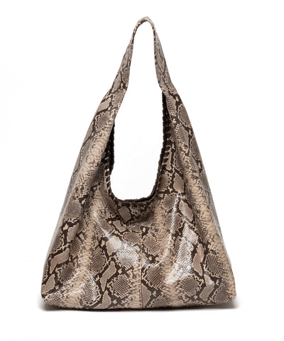 MARA | Brown Snake Print