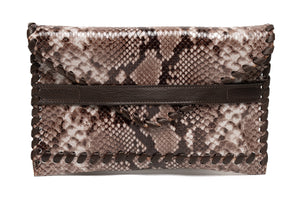 Polka | Brown Snake Print
