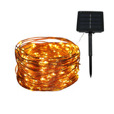 Solar Powered Copper Wire LED Fairy Lights