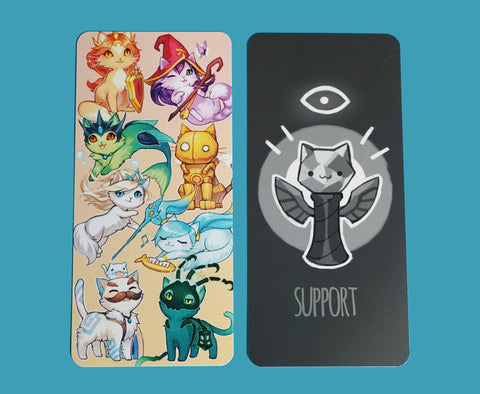Support Cats Bookmark