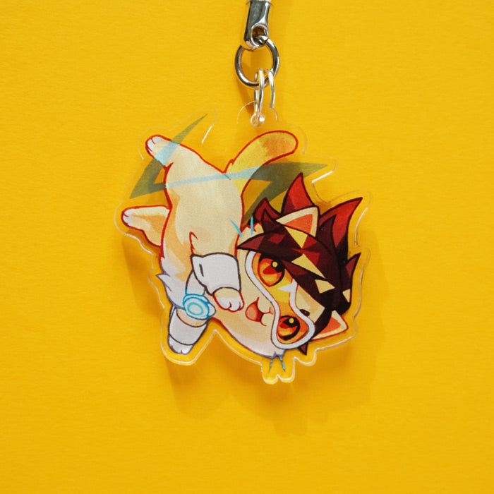 Tracer Cat Charm