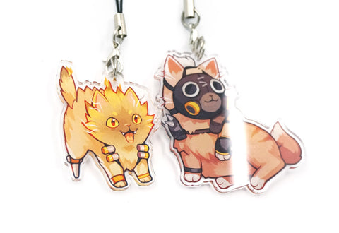 Roadhog Cat Charm