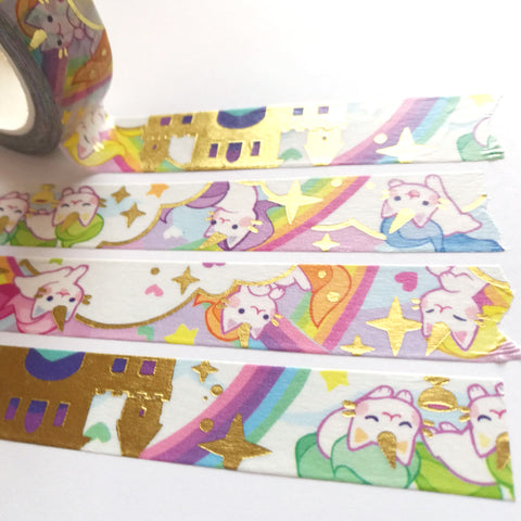 Unicorn Kittens Washi Tape