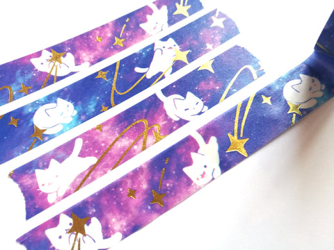 Star Kittens Washi Tape