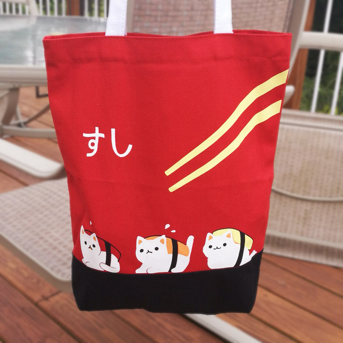 Sushi Cats Tote Bag