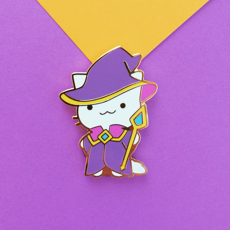 Wizard Cat Pin