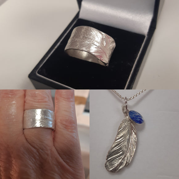 Feather Memorial Jewellery