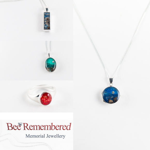 Bee Remembered Memorial Jewellery