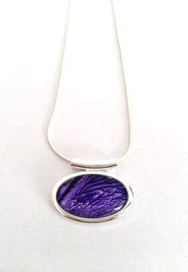 Small Abstract Tube Pendant