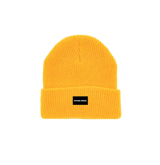 Nothing Special Cuff Beanie - Gold