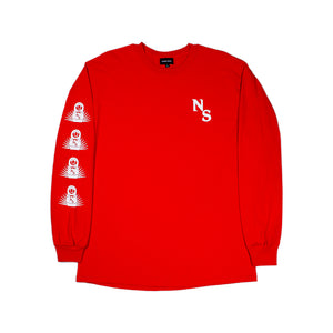 Familia LS T-Shirt - Red