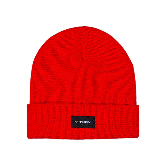Nothing Special Cuff Beanie - Red