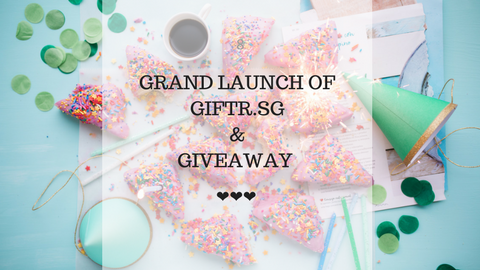 Grand Launch & Giveaway