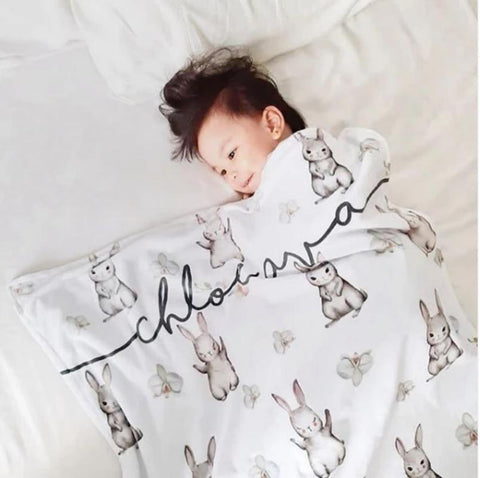 Personalized Blanket - Bunny (Nationwide Delivery)
