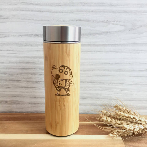 Cartoon Stainless Steel Thermal Flask with Wordings (Est. 6-8 working days)