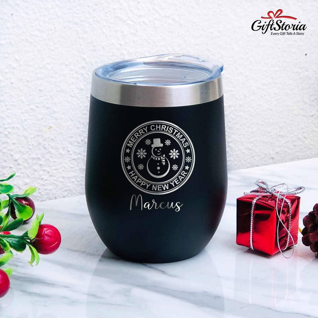 Christmas Gift - Insulated Tumbler (Snowman)