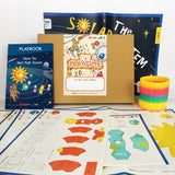 3D Solar System Game, Kids Activity Box