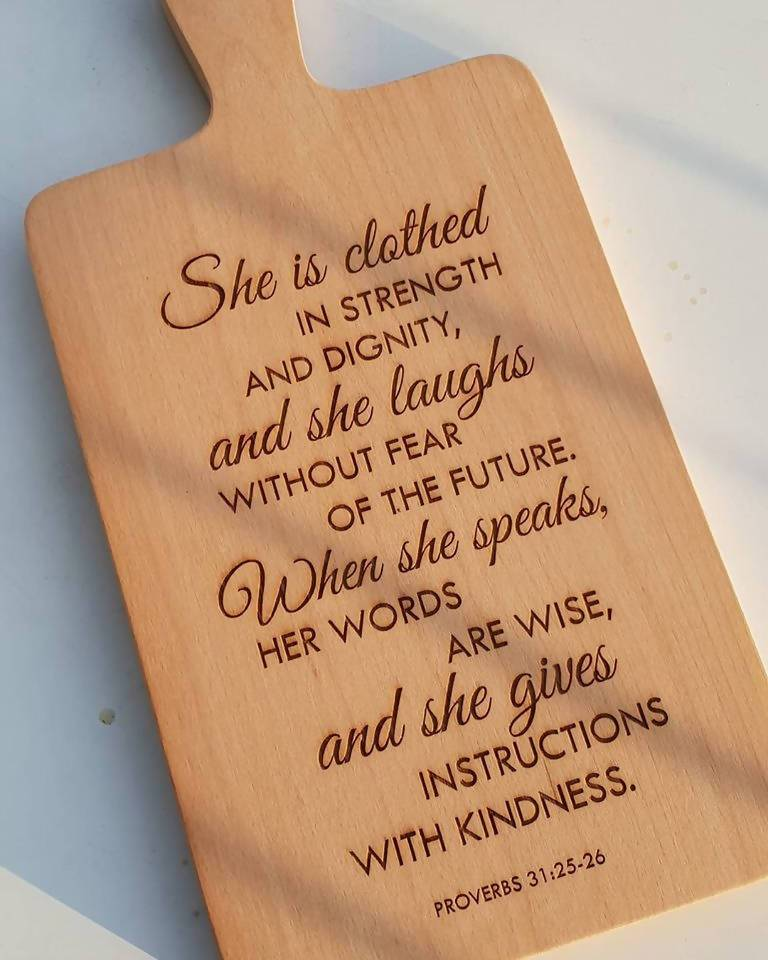 *Christmas 2020* Personalized Wooden Chopping Board