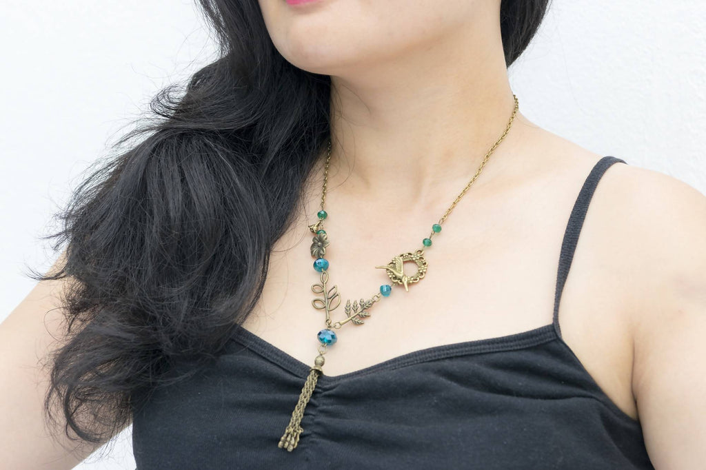 Vintage Nature Necklace  (4-10 working days)
