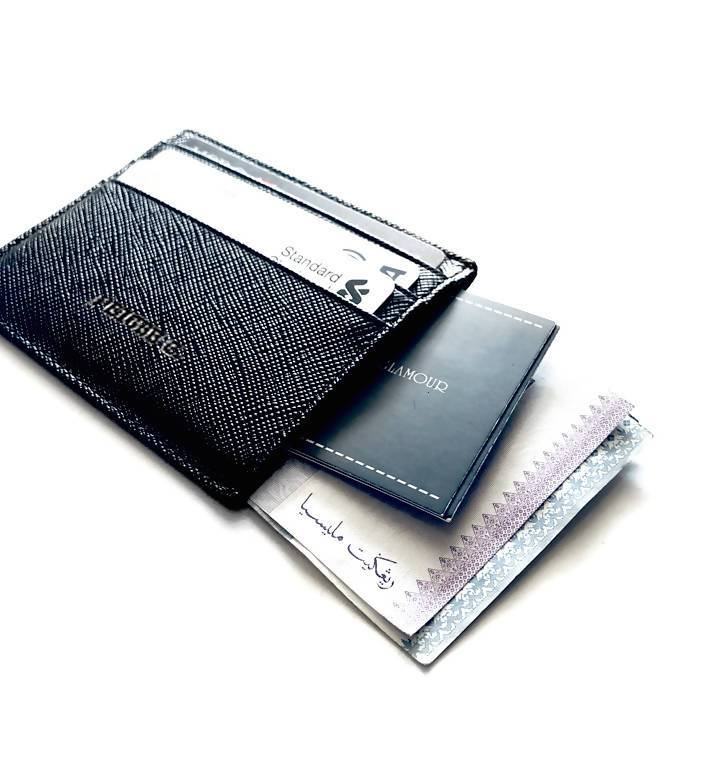 Personalised Compact Multi Card Slot Slim Wallet
