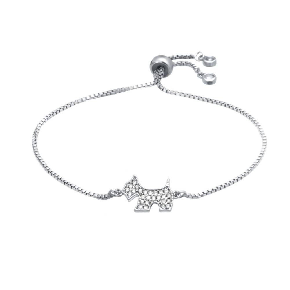 AJ Luna Puppy Adjustable Bracelet