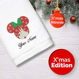 Personalised Towel | X'mas Minnie