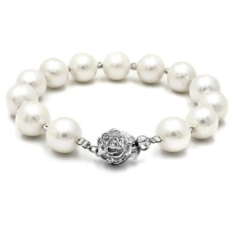 Angie Jewels & Co. Classic Casablanca Fresh Water Pearl Bracelet