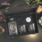 Personalized Whiskey Decanter Set (Design 5)