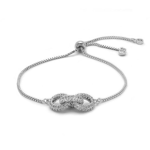 Angie Jewels & Co. Luna Borndage Adjustable Bracelet
