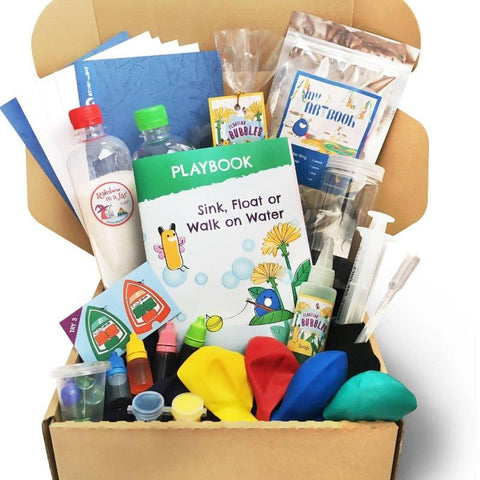 Kids Activity Box: Sink, Float or Walk on Water