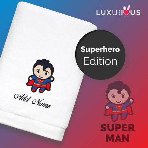 Personalised Towel | Superhero Superman