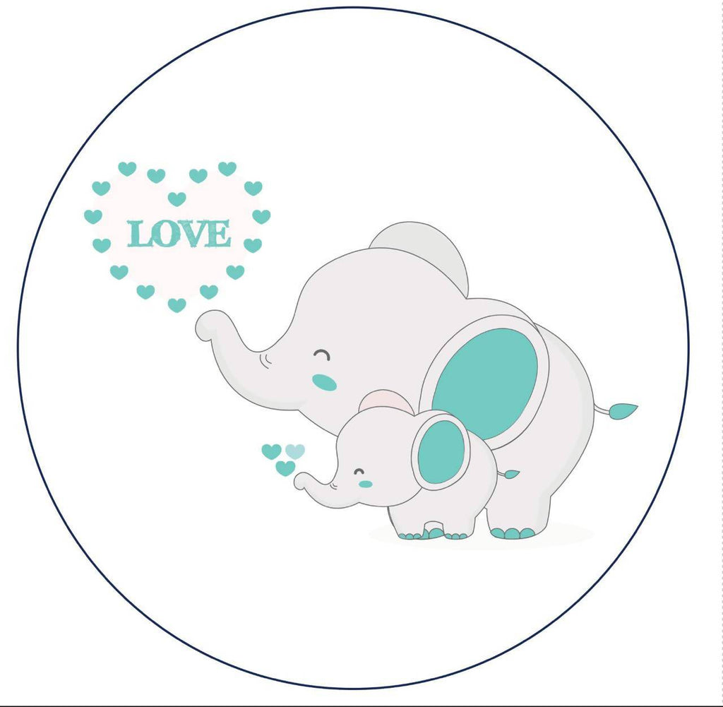 Elephant Round Playmat (Nationwide Delivery)