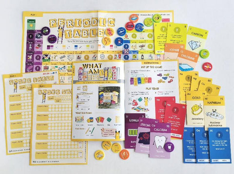 Periodic Table Trivia Game, Kids Activity Box