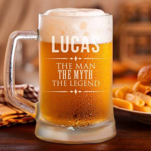"""The Legend"" Personalised Classic Beer Mug -17oz"