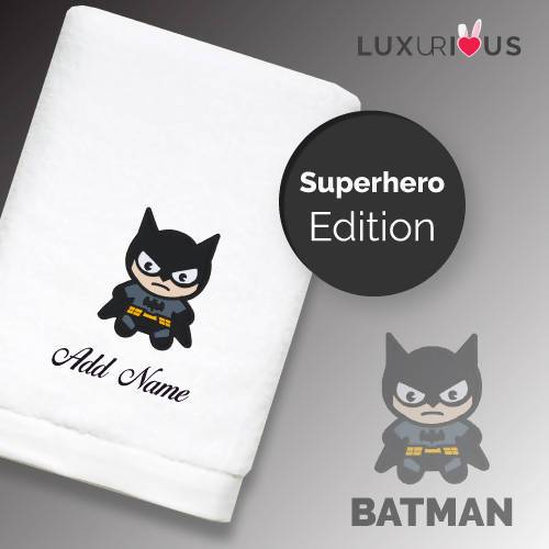 Personalised Towel | Superhero Batman