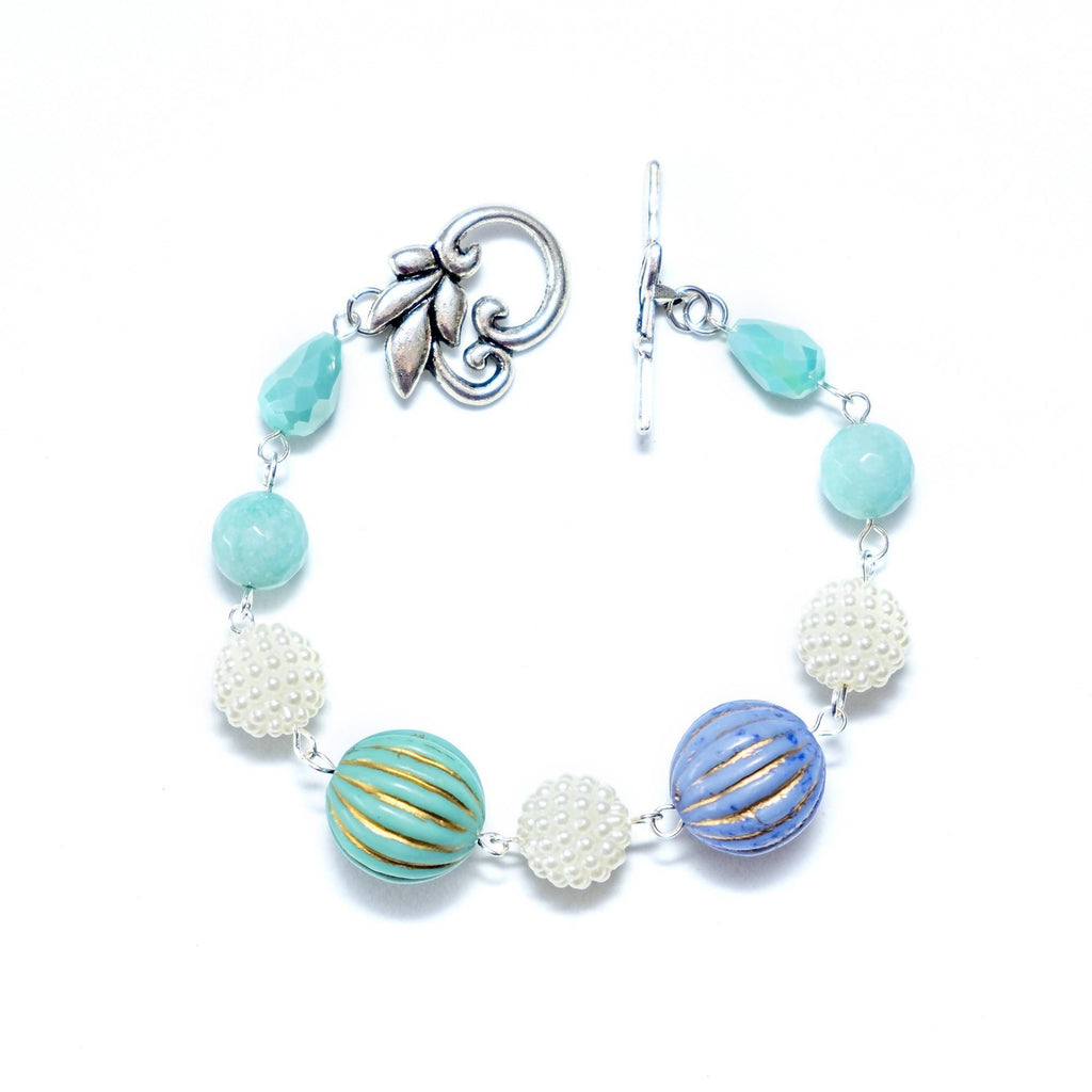 Pastel Turquoise Blue Bracelet  (4-10 working days)