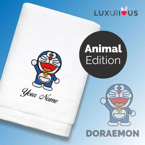 Personalised Towel Doraemon Designs