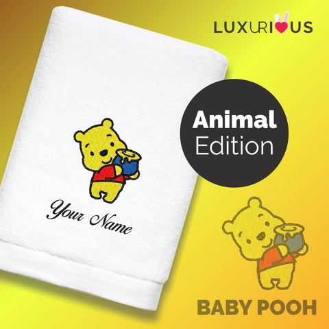 Personalised Towel Baby Pooh
