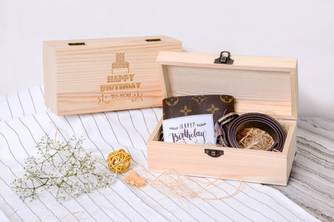 Personalised Storage Box with Wordings & Image (6-8 working days)
