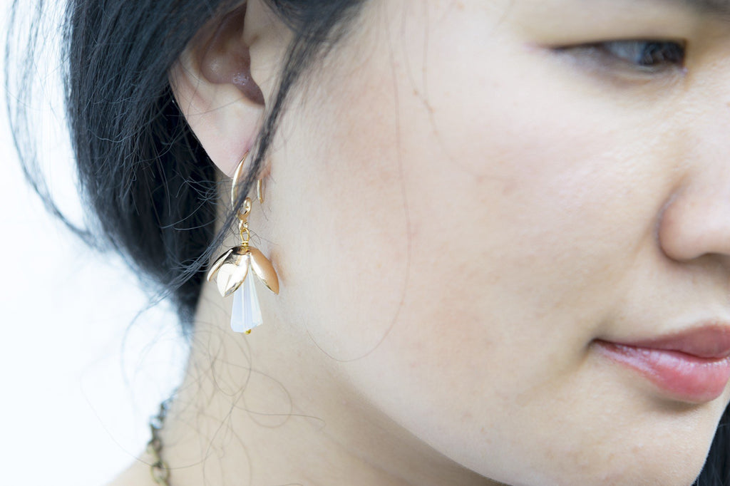 Opulence Gold Earring  (4-10 working days)