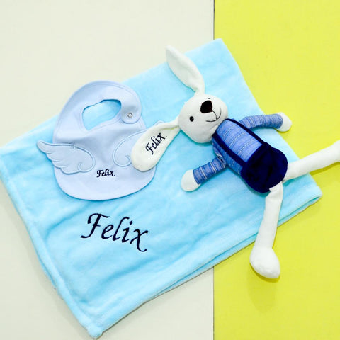 Personalised Baby Gift Set (Est. 12-14 working days)