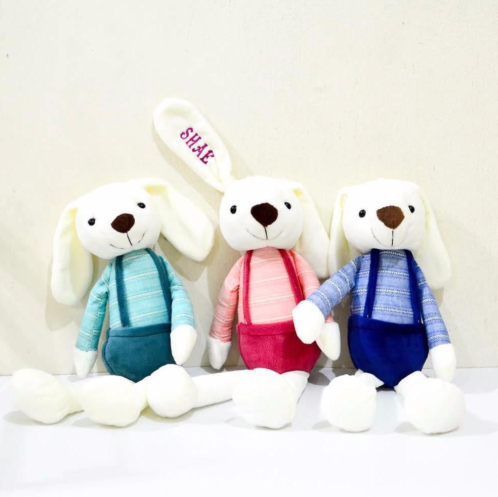 Christmas 2020 Personalised Couple Bunny (Soft Toy) (Est. 12-14 working days)