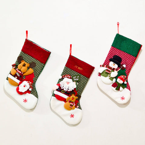 Personalised Christmas Socks (Christmas 2020) (Est. 12-14 working days)